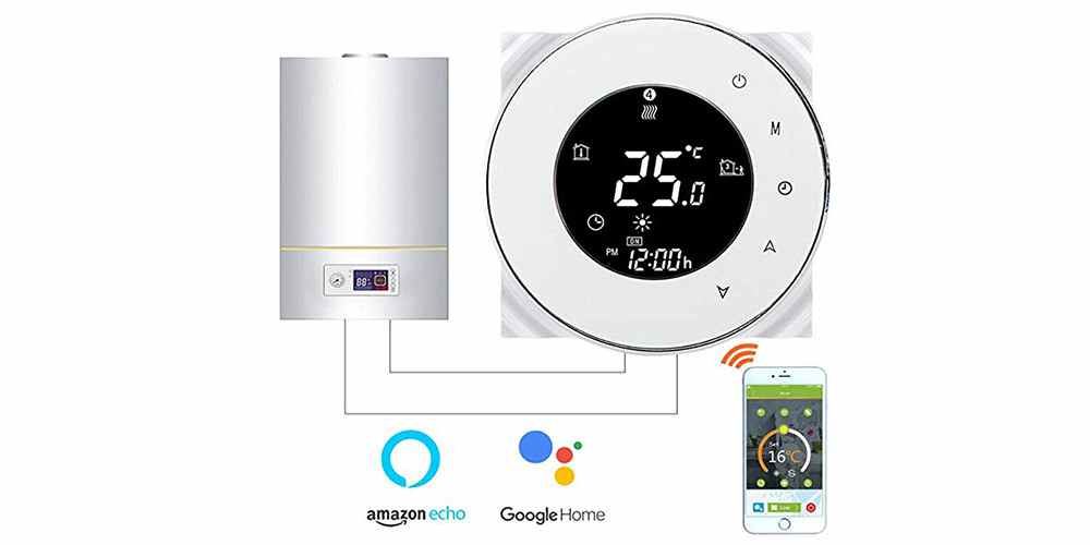 comment installer et programmer un thermostat d ambiance connecte