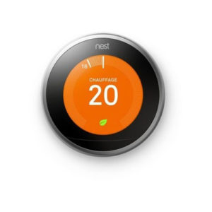 thermostat connecte et intelligent 3 eme generation nest