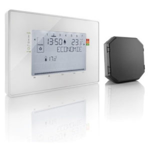 thermostat multizone radio avec recepteur a contact sec somfy